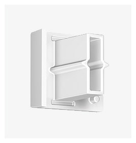 Artiteq number: 30.3121 | End Cap white, Contour Rail