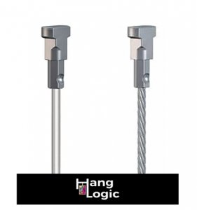 Photo of Artiteq 1 mm Perlon and stainless-steel hanging wires.