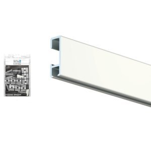 Click rail - Artiteq picture hanging system component